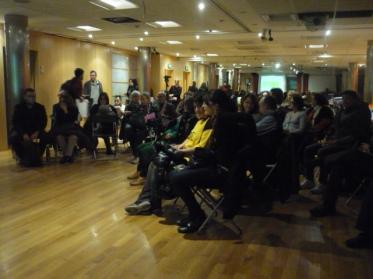 Presentación en AureaS público